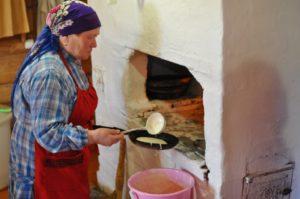 Главная часть дома – печь или по-удмуртски гур.